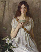 The Cup of Knowledge By Lilla Cabot Perry