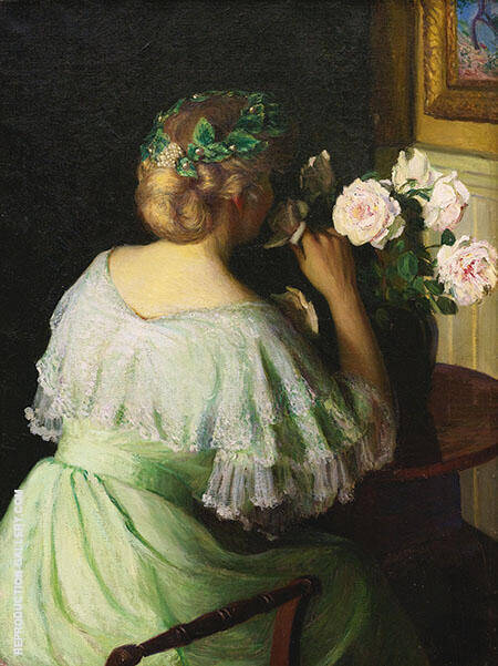 The Scent of Roses By Lilla Cabot Perry