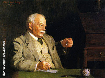 William Dean Howells 1912 By Lilla Cabot Perry