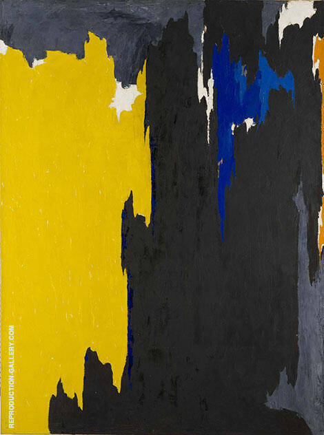 PH-238 Painting By Clyfford Still - Reproduction Gallery