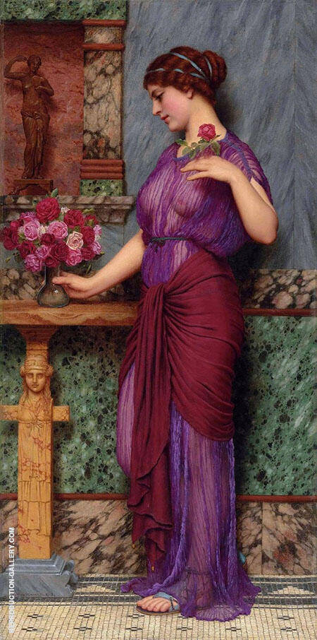 An Offering to Venus 1912 By John William Godward