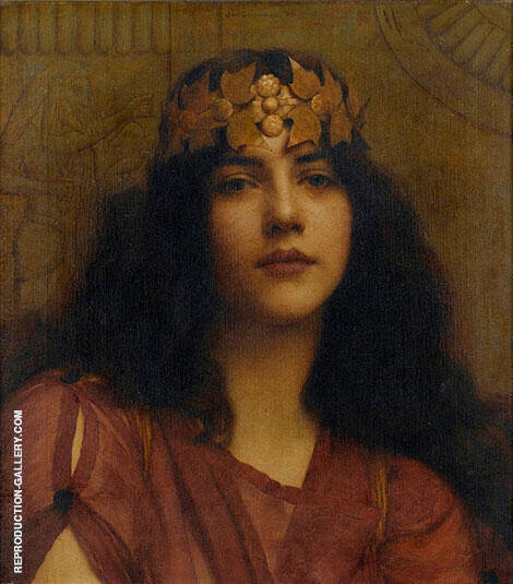 A Persian Princess By John William Godward
