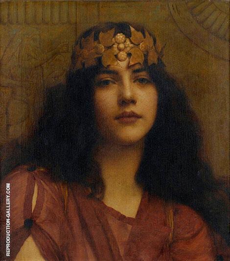 A Persian Princess By John William Godward