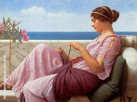 A Souvenir 1920 By John William Godward