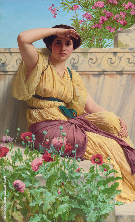 A Tryst By John William Godward