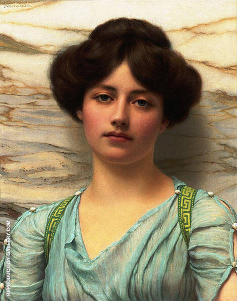 Carina 1910 By John William Godward