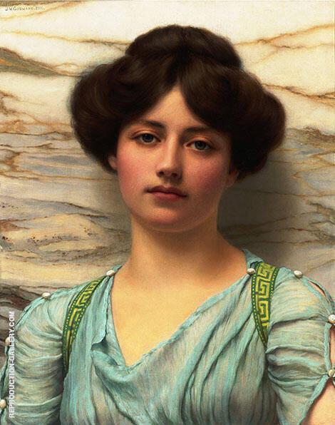 Carina 1910 By John William Godward