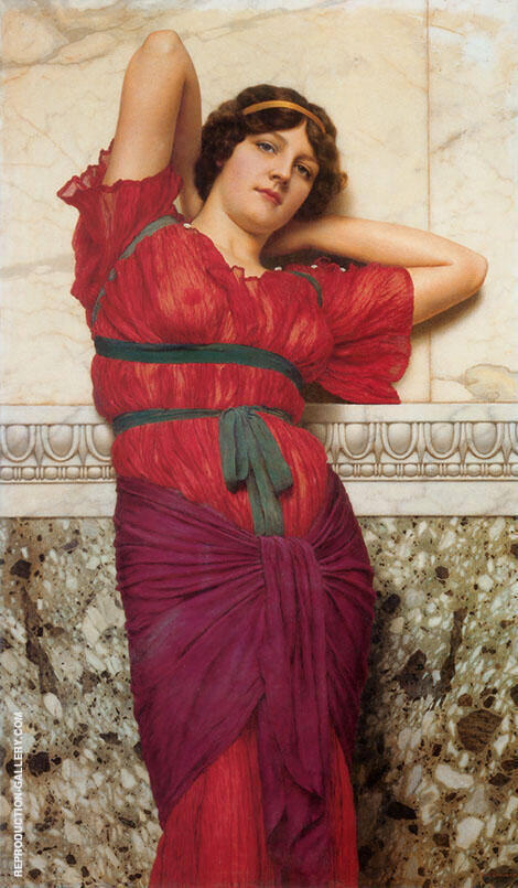 Contemplation 1922 By John William Godward