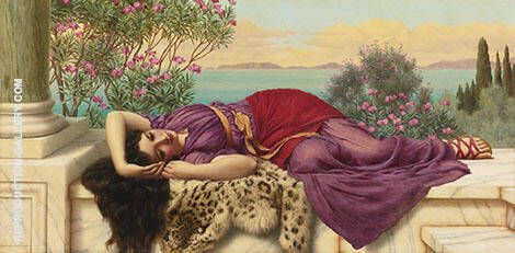 Dolce Far Niente 1906 By John William Godward