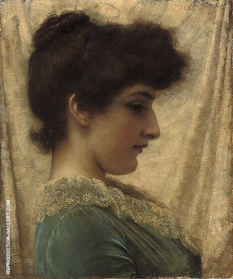 Dora 1887 Painting By John William Godward - Reproduction Gallery