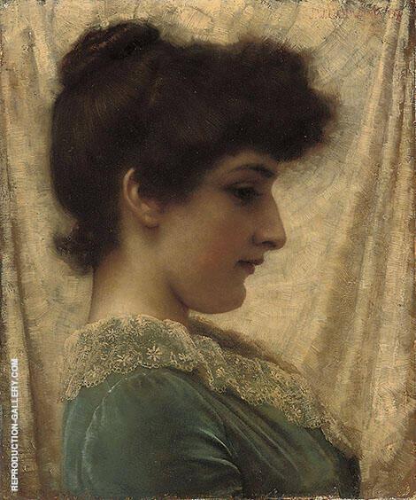 Dora 1887 By John William Godward