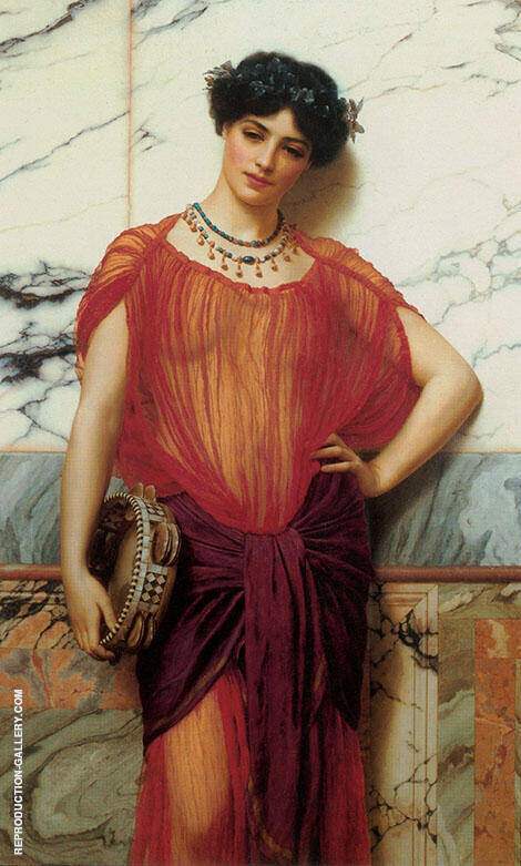 Drusilla 1906 By John William Godward