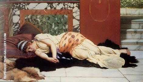 Endymion 1893 By John William Godward