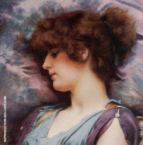 Far Away Thoughts 1892 By John William Godward