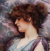 Far Away Thoughts 1892 By John William Godward