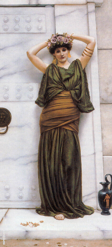 Ianthe 1889 Painting By John William Godward - Reproduction Gallery