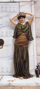 Ianthe 1889 By John William Godward