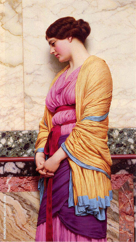 In Pensive Mood By John William Godward