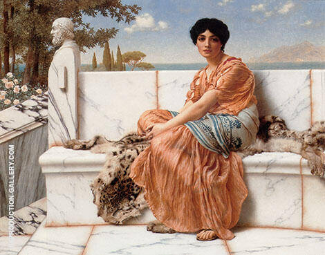 In The Days of Sappho 1904 By John William Godward