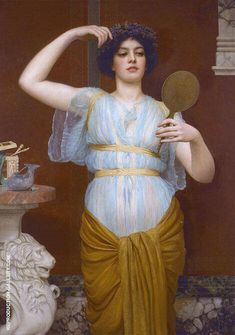 Ione c1900 By John William Godward