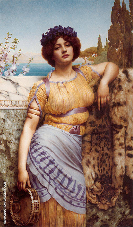 Ionian Dancing Girl 1902 Painting By John William Godward
