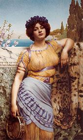 Ionian Dancing Girl 1902 By John William Godward