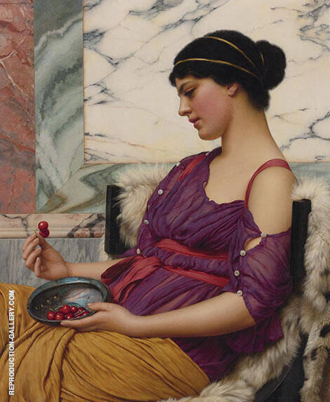 Megilla 1921 By John William Godward