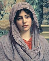 Lycinna 1918 By John William Godward