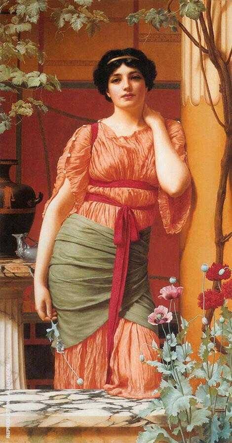 Nerissa 1906 By John William Godward