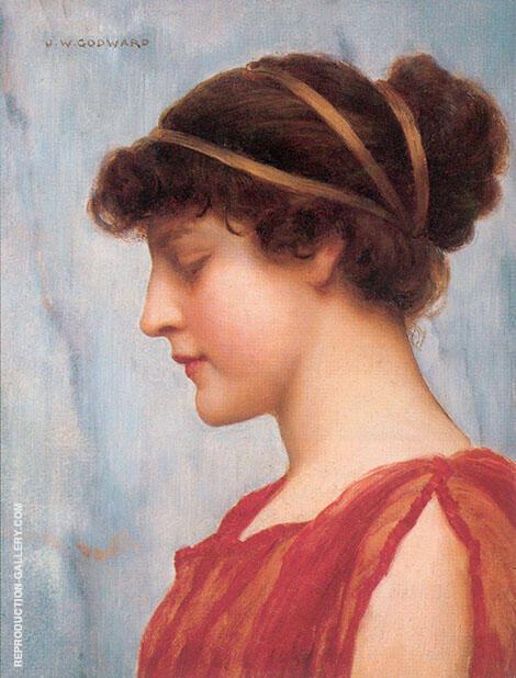 Ophelia 1889 By John William Godward