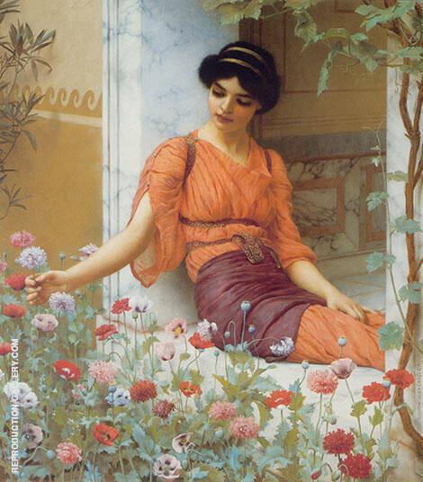Summer Flowers 1903 Painting By John William Godward