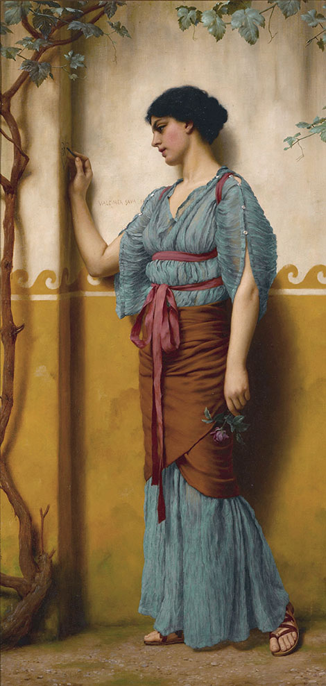 The Trysting Place By John William Godward