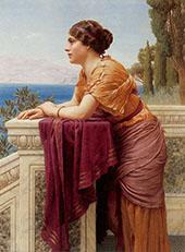 The Belvedere 1913 By John William Godward