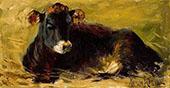 Cow Lying Down By Matilda Browne