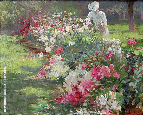 Peonies By Matilda Browne