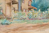 Summer Garden By Matilda Browne