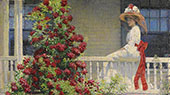 The Artist's Garden By Matilda Browne