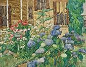 The Flower Garden By Matilda Browne
