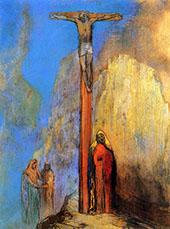 Calvary c1897 By Odilon Redon