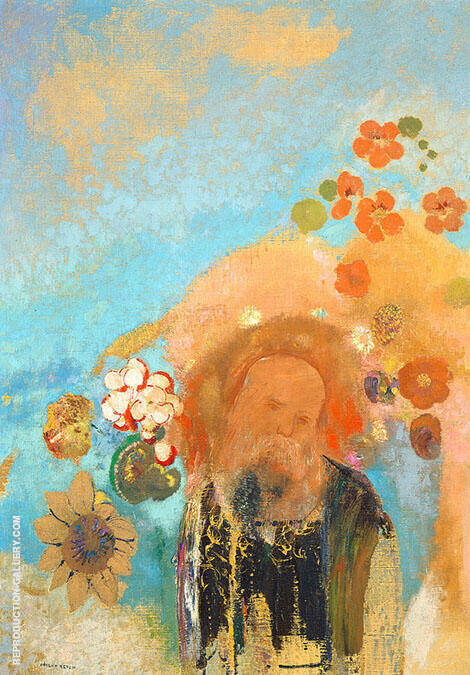 Evocation of Roussel Painting By Odilon Redon - Reproduction Gallery