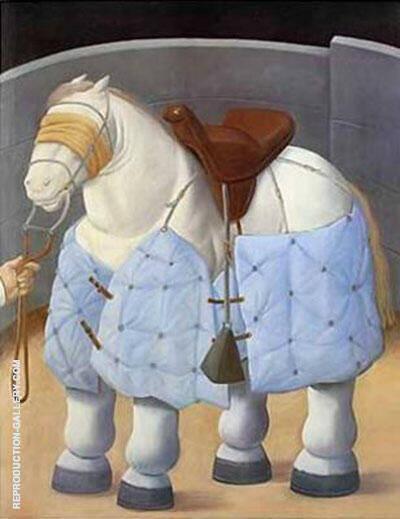 Caballo del Picador la Corrida By Fernando Botero