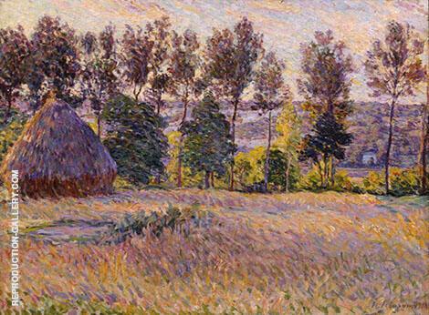 Paysage avec meule 1900 By Henri Lebasque