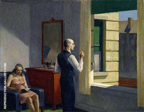 Hotel By A Railroad 1952 Painting By Edward Hopper - Reproduction Gallery