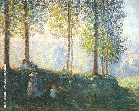 Afternoon in The Park By Henri Lebasque