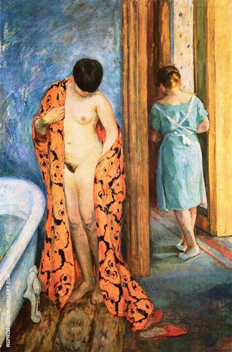 The Japanese Robe By Henri Lebasque