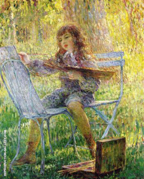 Young Painter By Henri Lebasque