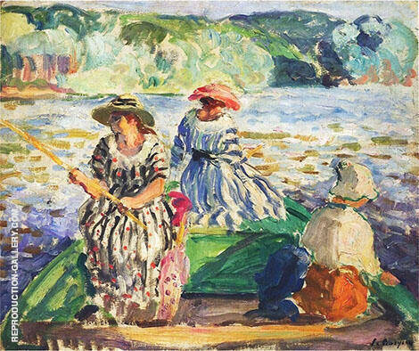 A Fishing Expedition 1929 By Henri Lebasque