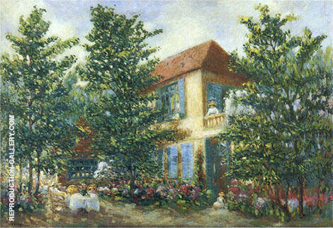 After Midday in The Garden By Henri Lebasque