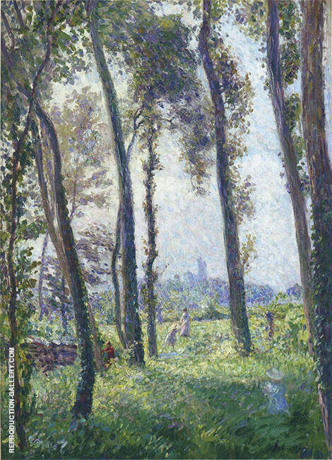 Afternoon in The Clearing By Henri Lebasque