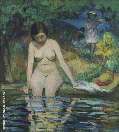Bather By Henri Lebasque